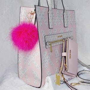MICHAEL KORS 3P SET Bag Wallet Pom NWT